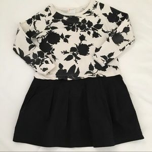 Crewcuts Floral Sweatshirt Dress